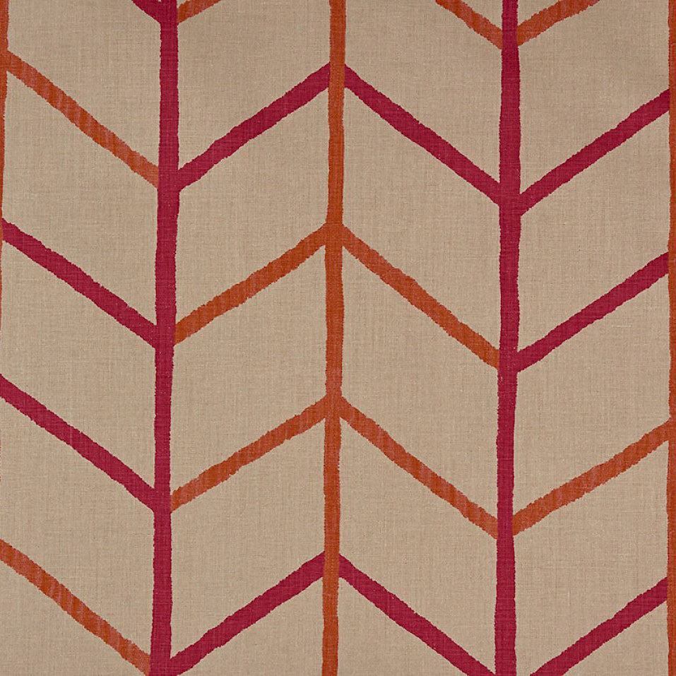 Christopher Farr One Way Hot Pink - Fabric Samples available at GalapagosDesigns.com