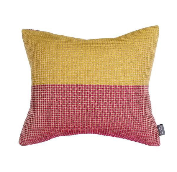 Les Jacquets Cushion by Claire Gaudion