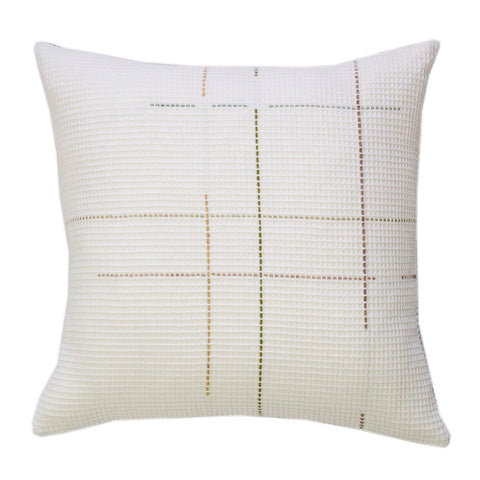 Classic White Cushion by WAFFLE