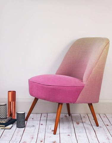 The Bartholomew Cocktail Chair in Blossom Padua Linen