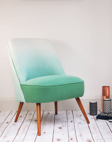 The Bartholomew Chair in Jade Padua Linen