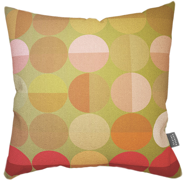 Dinette Cotton Cushion by Claire Gaudion available at GalapagosDesigns.com
