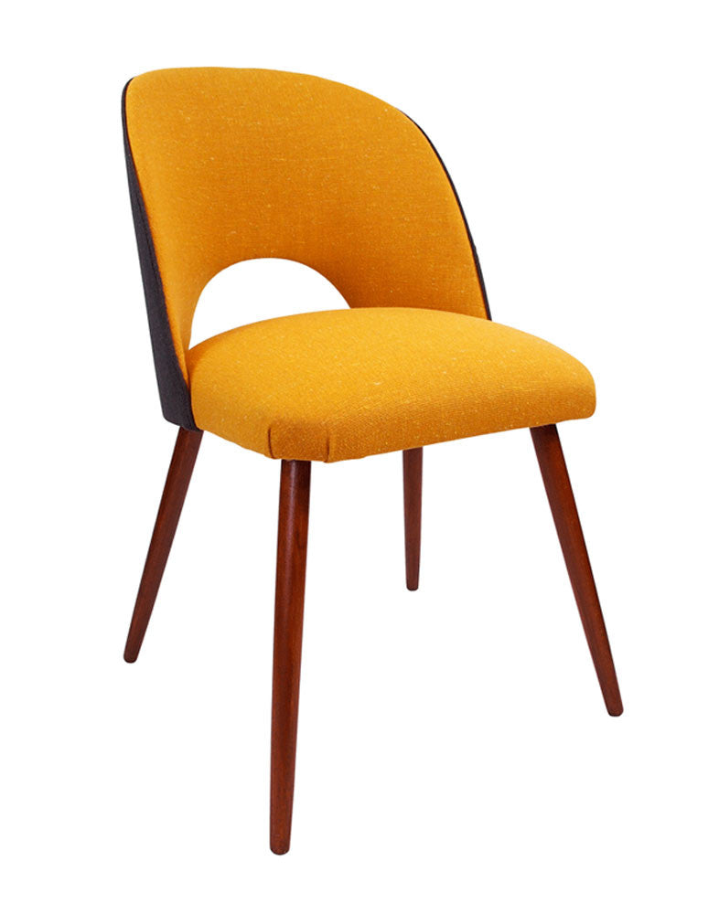 Galapagos Fernandina Vintage Desk Chair in Mustard