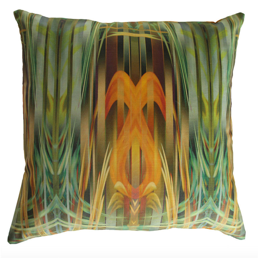Forget Me Not Cushion by Parris Wakefield
