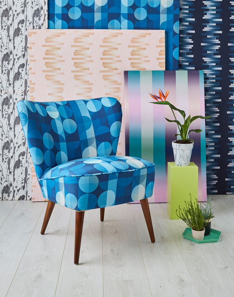 Galapagos Bartholomew Chair in Indigo Two