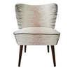 Galapagos Bartholomew Chair in Alana Chalk Pink and Steel
