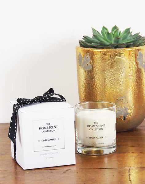Amber Natural Candle Available at GalapagosDesigns.com