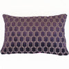 Bakerloo Blackberry Velvet Cushion - Available at GalapagosDesigns.com