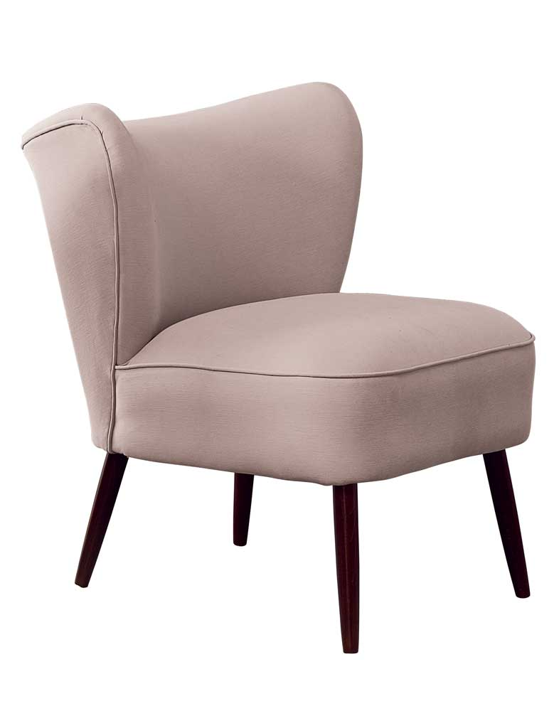 New Bartholomew Cocktail Chair in Quinto Blossom Pink Cotton
