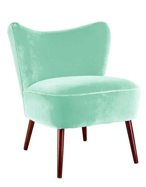 New Bartholomew Cocktail Chair in Pale Jade Varese Velvet