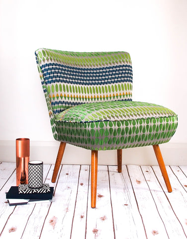 The Bartholomew Chair in Kaleidoscope by Margo Selby