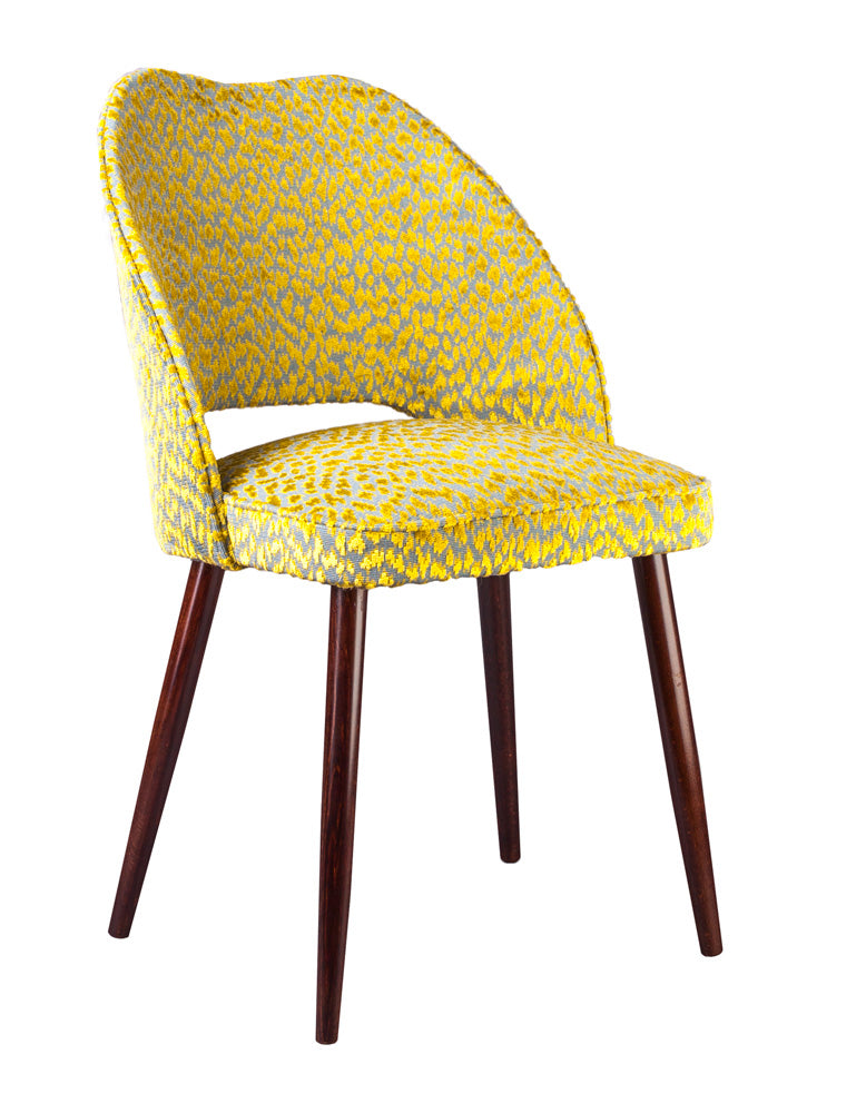 New Fernandina Bow Dining and Desk Chair in Otis Fenugreek