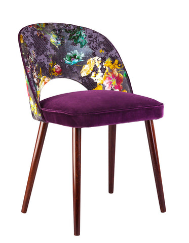 New Fernandina Dining and Desk Chair in Florenza Damson