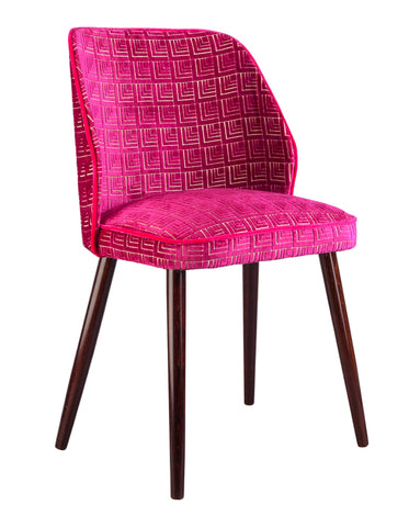 New Fernandina Square Dining and Desk Chair in Frith Cassis
