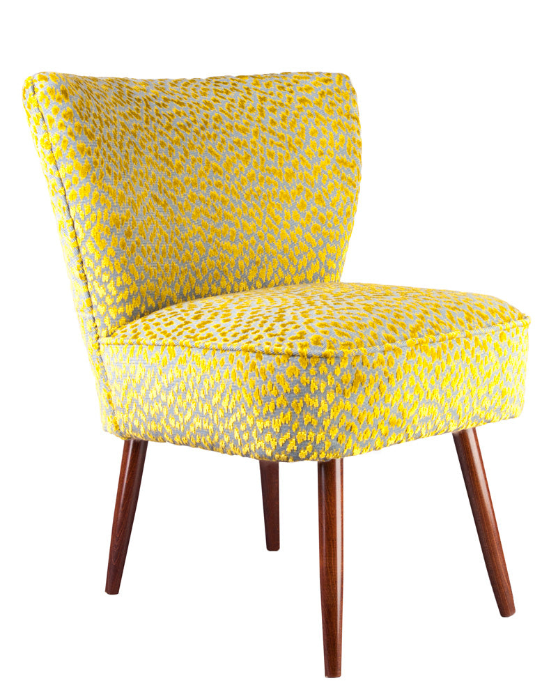 New Genovesa Cocktail Chair in Otis Fenugreek