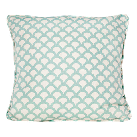 Aqua Kyoto Koi Cushion by Korla