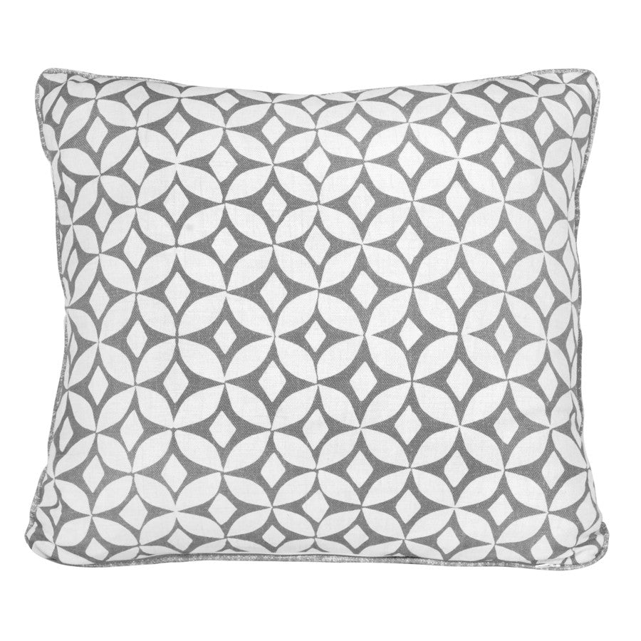 Quadria Steel Cushion by Korla available at GalapagosDesigns.com