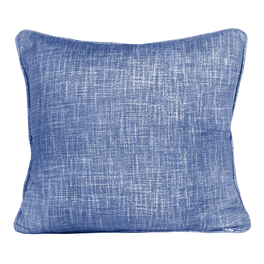 Weave Ink Blue Cushion by Korla available at GalapagosDesigns.com