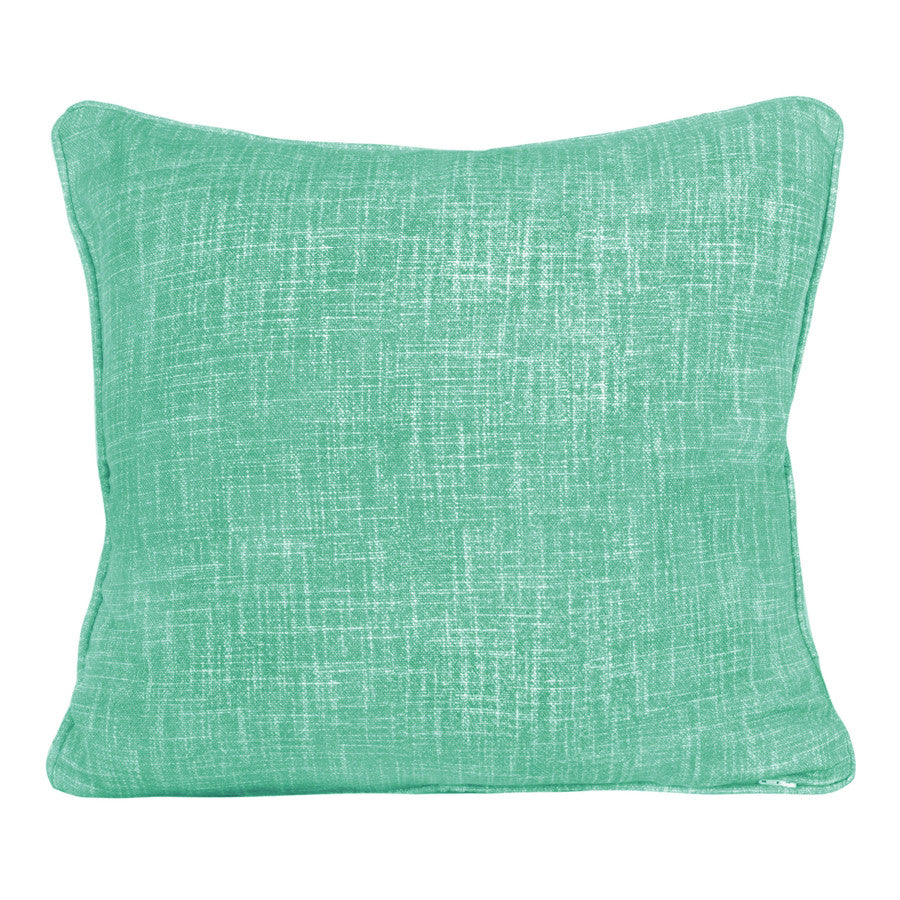 Lake Green Weave Cushion by Korla