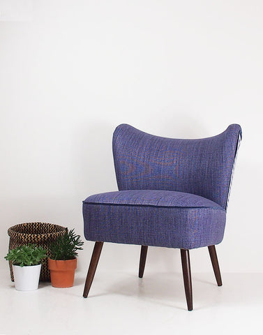 The New Bartholomew Cocktail Chair in Christopher Farr Alto & Meander