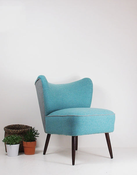The New Bartholomew Cocktail Chair in Kirkby Design Leaf & Cross available at GalapagosDesigns.com