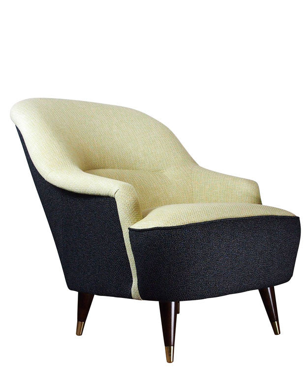 MidCentury Made Modern - The Pinta Chair in Charcoal Signal