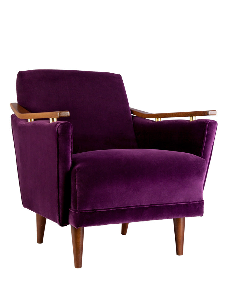 New Pinzon Armchair in Varese Velvet