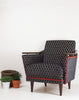 The New Pinzon Armchair in Kirkby Design Bakerloo Velvet available at GalapagosDesigns.com