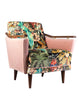 Make your own Pinzon Armchair with bespoke fabric - available at Galapagosdesigns.com