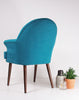 The New Beck Chair in Aqua Manzoni available at GalapagosDesigns.com