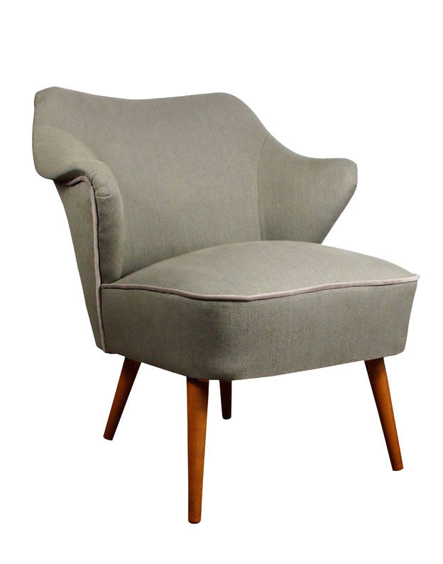 The Wallace Vintage Chair in Seraphina Linen