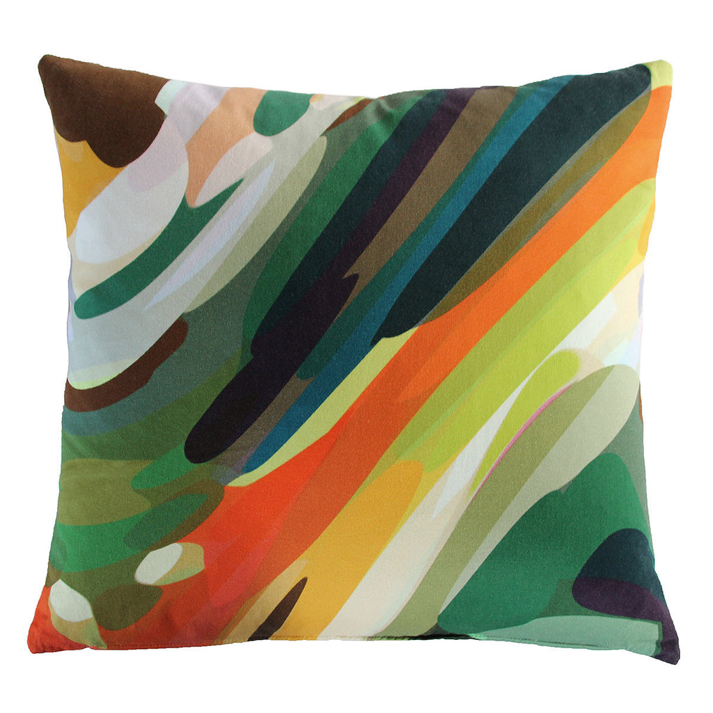 Large Garden Cushion by Parris Wakefield available at GalapagosDesigns.com