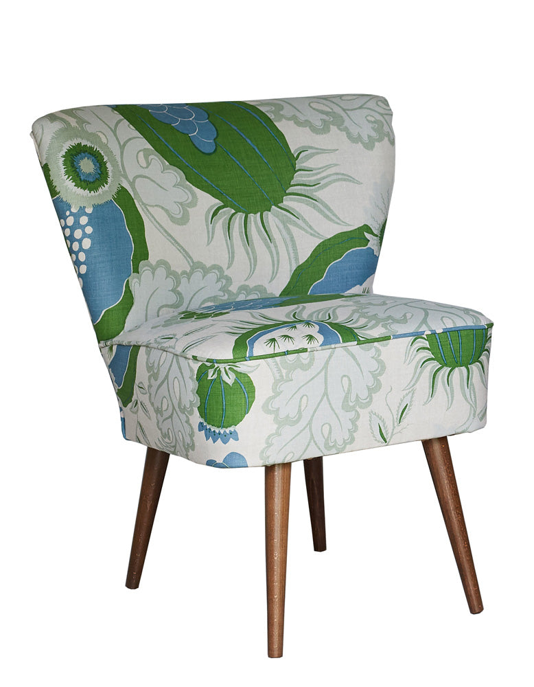 New Genovesa Cocktail Chair in Christopher Farr Carnival