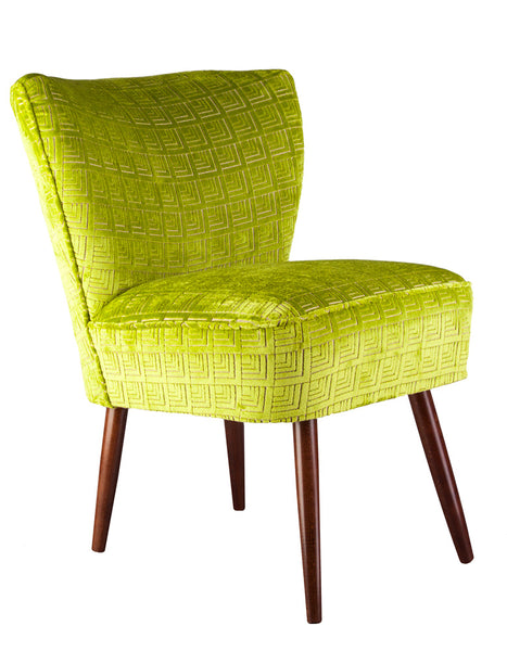 New Genovesa Cocktail Chair in Frith Apple