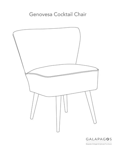Make Your Own Genovesa Cocktail Chair