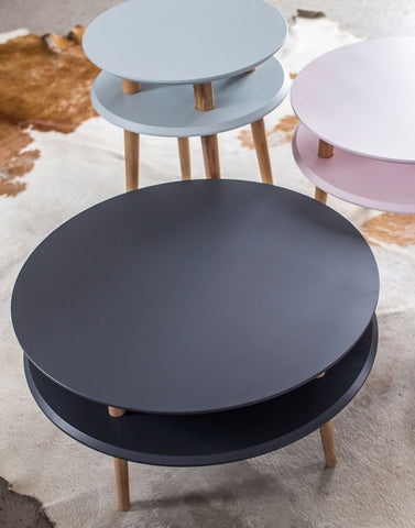 Kawa Coffee Tables in Graphite