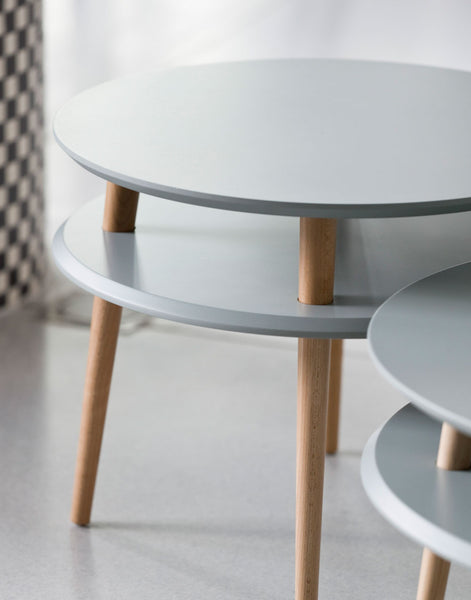 Kawa Coffee Table in Grey