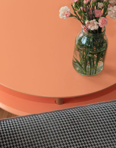Kawa Coffee Tables in Orange