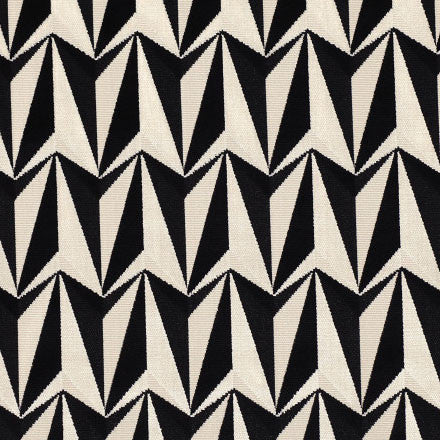 Fabric Sample available at GalapagosDesigns.com - Kirkby Design Origami Rockets Monochrome