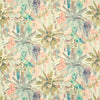 Free fabric samples from GalapagosDesigns.com - Rainforest Rabble Sherbet from Linwood
