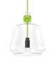 Knot Pendant Lamp in Green