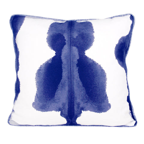 Ink Blue Inkat Cushion by Korla