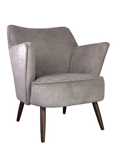 New Norfolk Chair in Velvet Corduroy