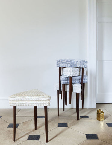 Oracle Stools in Kirkby Design Fabrics