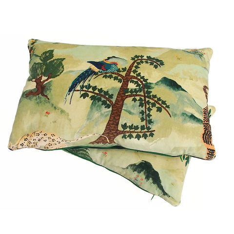 Fable Aesop Velvet Cushion