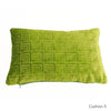 Cushions by Galapagos with Fable Aesop velvet - available at GalapagosDesigns.com