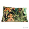 Rainforest Rabble Velvet Cushion
