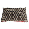 Bakerloo Magnet Grey and Fenelle Rose Velvet Cushion - available at GalapagosDesigns.com
