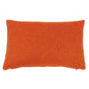 Cushions by Galapagos made with Main Line Flax Leyton orange wool mix fabric - available at GalapagosDesigns.com