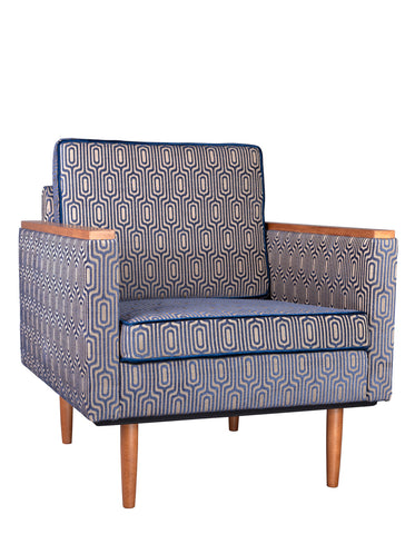 New Santiago Minor Vintage Style Armchair in Memory